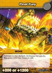 Final Fury TCG Card 1