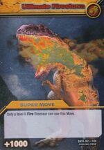 Ultimate Firestorm TCG Card 1-Silver