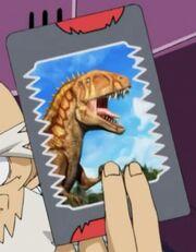 Acrocanthosaurus card1