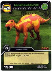 Lanzhousaurus TCG Card 1-Silver