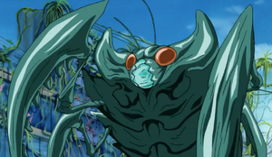 Mantis Monster teal 1