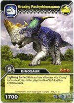 Pachyrhinosaurus-(Pasture-Grazing) TCG Card (French)