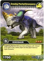 Pachyrhinosaurus-(Pasture-Grazing) TCG Card (French)