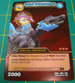 Spinosaurus - Spiny DinoTector TCG Card 3-DKTA-Gold