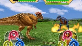 Dinosaur King Arcade Game 恐竜キング - Pachycephalosaurus VS the Alpha Fortress -Easy-