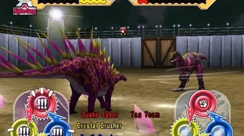 Dinosaur King Arcade Game 恐竜キング - The Alpha Exam - Super Alpha Kentrosaurus Hard Mode