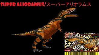 Dinosaur King 古代王者恐竜キング- Wake up! New Power!!- Super Alioramus (Space Pirates (stage 1))