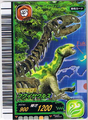 Fukuisaurus Skeleton Card 1
