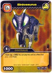 Einiosaurus TCG Card