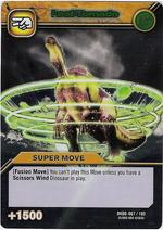 Leaf Tornado TCG Card 1-Silver