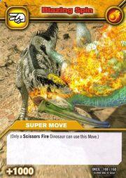 Blazing Spin TCG Card