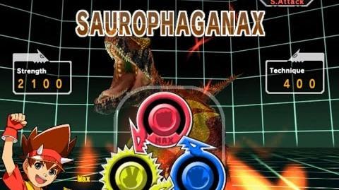 Dinosaur King Arcade Game 恐竜キング - Secret Battle - Saurophaganax
