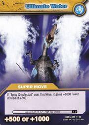 Ultimate Water TCG Card (German)