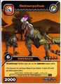 Deinonychus TCG Card 1-Gold (German)