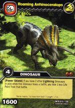 Arrhinoceratops-Roaming TCG Card