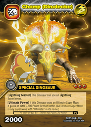 Chomp armor TCG card