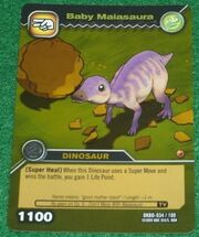 Maiasaura-Baby TCG Card (German)