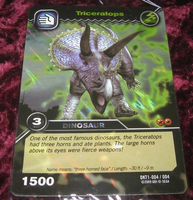 Triceratops TCG Card 2-Colossal