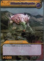 Ultimate Earthquake TCG Card 1-Silver