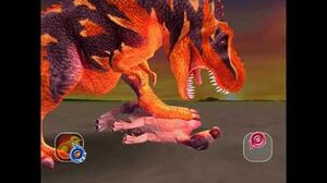 Dinosaur King Awaken - Super Terry (Tyrannosaurus) Easy Mode (Japanese)