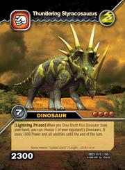 Thundering Styracosaurus