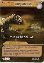 Whip Shock TCG Card 1-Gold