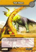 Tail Slam TCG Card 1