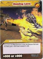 Searing Lava TCG Card