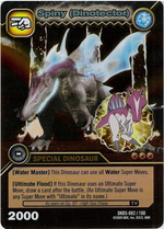 Spinosaurus - Spiny DinoTector TCG Card 1-DKDS-Gold
