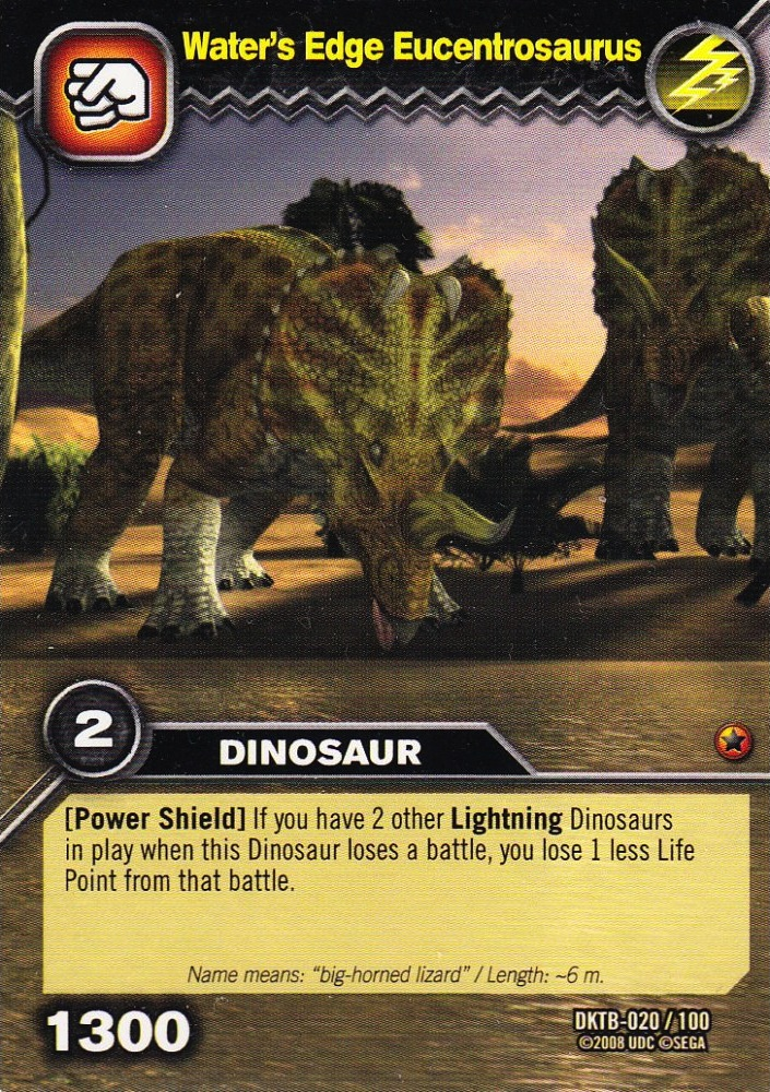 Eucentrosaurus dinosaur king fandom powered by wikia - Dinausaure king ...