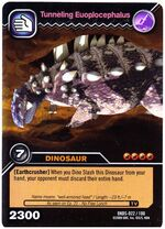 Euoplocephalus-Tunneling TCG Card 1-Gold (German)