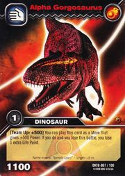 Gorgosaurus Alpha TCG Card