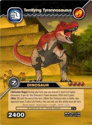 Tyrannosaurus-Terrifying TCG Card