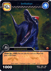 Irritator TCG card