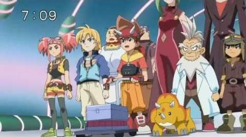 Dinosaur King s2ep029 The Clash for the Cosmos Stones