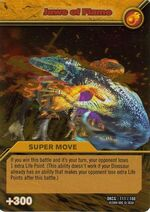 Jaws of Flame TCG Card 1-Gold