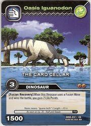 Iguanodon-Oasis TCG Card