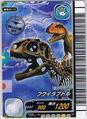 Fukuiraptor Skeleton Card 1a
