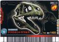 Acrocanthosaurus Skeleton Card 2
