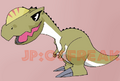 Monolophosaurus chibi v.2 colored
