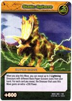 Static Sphere TCG Card 1-Silver 1a