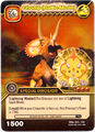 Triceratops - Chomp Battle Mode TCG Card 2-DKAA-Gold