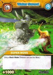 Water Sword TCG Card