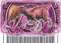 Dilophosaurus Alpha Card 1