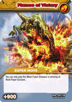 Flames of Victory TCG Card