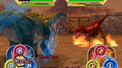 Dinosaur King Arcade Game 恐竜キング - Ampelosaurus VS the Alpha Fortress Hard