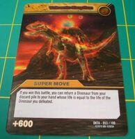 Volcanic Eruption TCG Card 1-Silver (French)