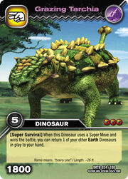 Grazing Tarchia TCG card