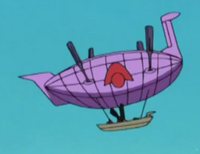 Alpha Rowing Blimp