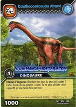 Opisthocoelicaudia-Starving TCG Card (French)